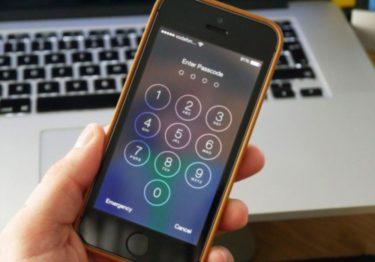 Как разблокировать IPhone 5?