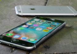 Разные настройки на  IPhone 6