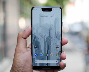 дизайн Google Pixel 3 XL фото