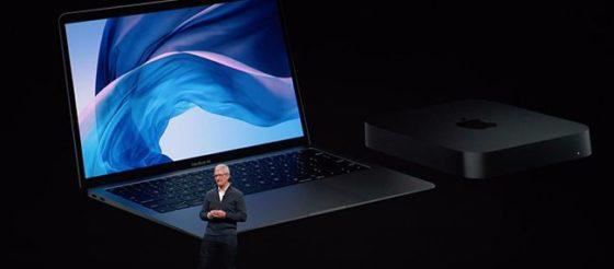 Старт продаж MacMini, новых MacBook Air, iPad Pro