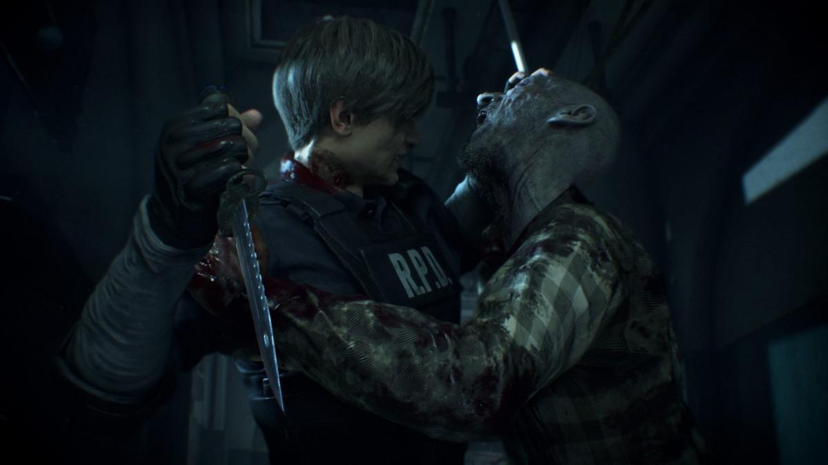 Resident Evil 2 Remake - крупный план - фото