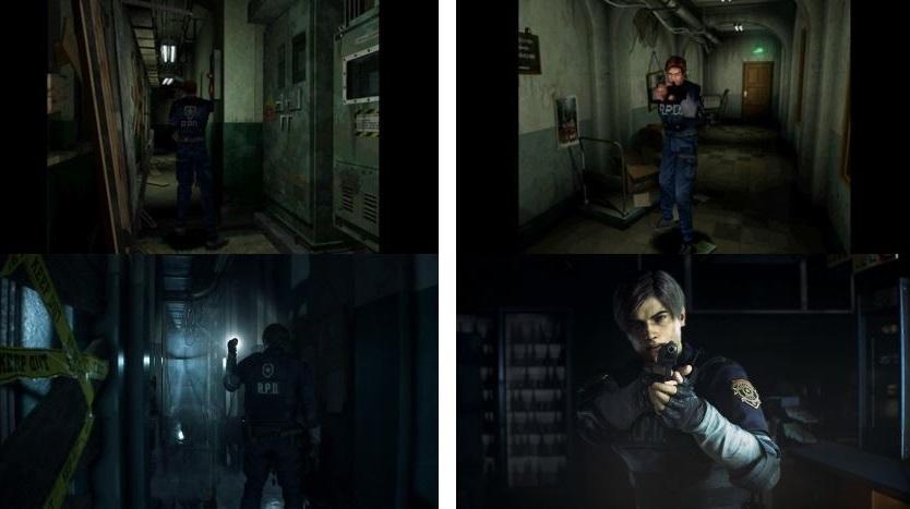 Resident Evil 2 Remake - сравнение оригинальной игрой - фото