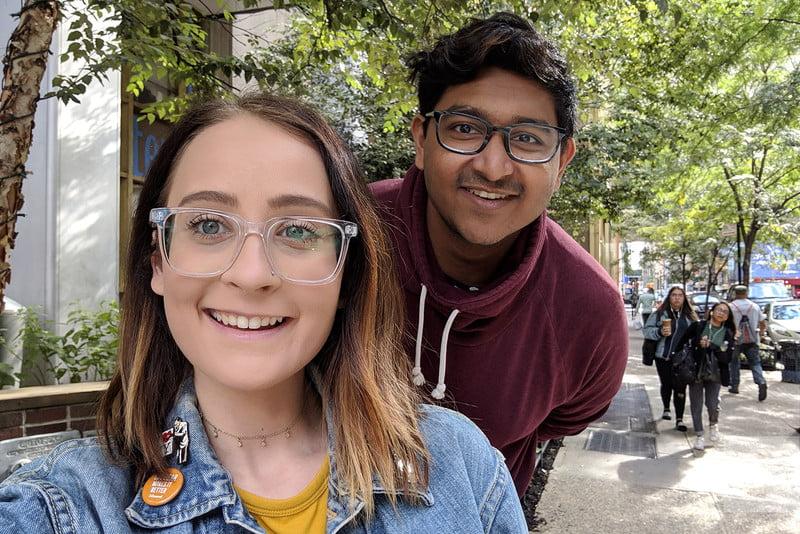 Ошеломляющая камераGoogle Pixel 3 XL фото - портретный режим - селфи