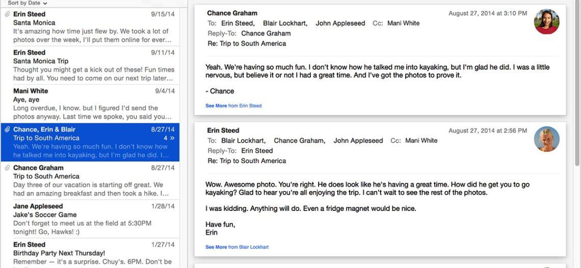 Применение интеллектуальных почтовых ящиков в Mail на Mac OS X