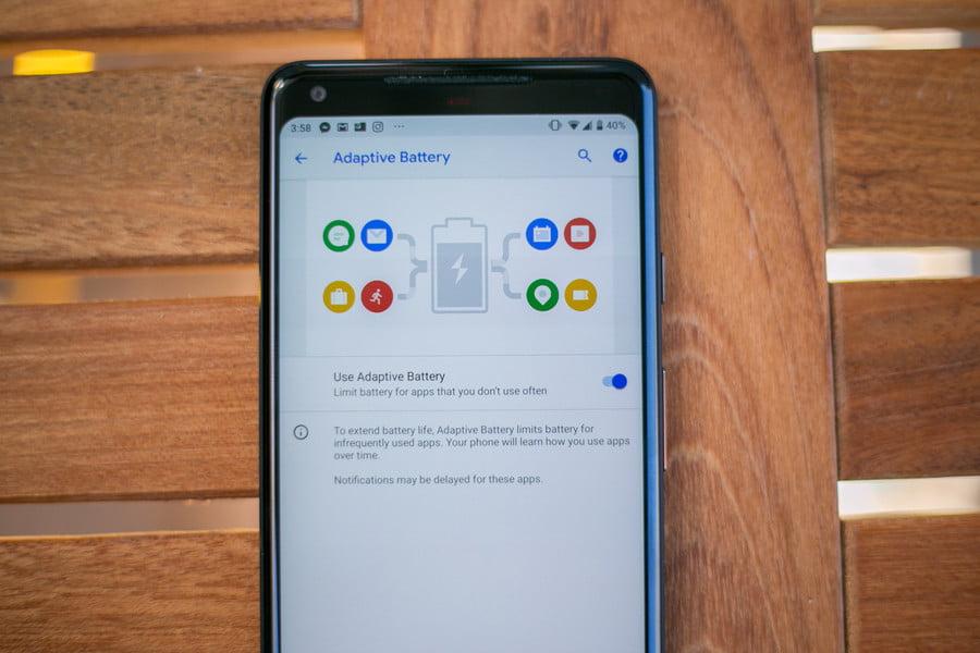 Обзор Android 9 Pie - Adaptive Battery