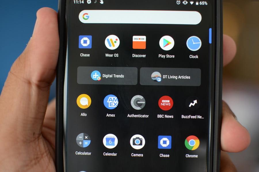 Обзор Android 9 Pie - App Actions