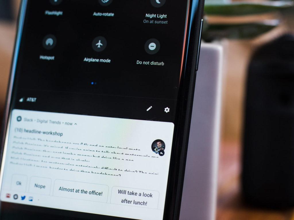 Обзор Android 9 Pie - Do Not Disturb