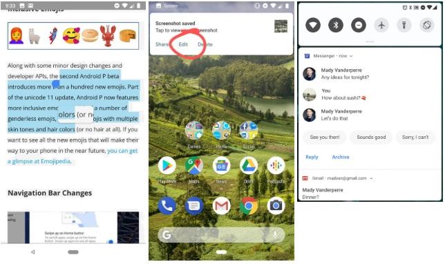 Обзор Android 9 Pie - Улучшение существующих средств