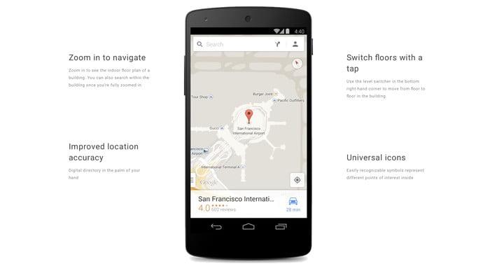 Обзор Android 9 Pie - GoogleMaps