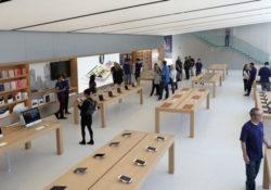 Подозреваемый в ограблении Apple Store потребовал от компании 1 миллиард долларов